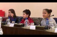 Los escolares toman la palabra en el Pleno infantil
