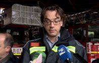 Ismael Pérez, nuevo jefe del servicio contra incendios de la capital