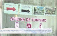 Arranca la rehabilitación de la Oficina de Turismo y de los refugios