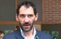 Jorge Garbajosa ha visitado esta mañana la universidad de Castilla-La Mancha