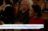 Carmen Oliver invitada especial de los abogados por el 8M
