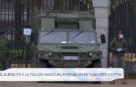El Ejercito y la Policía Nacional patrullan las calles de Albacete
