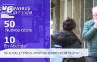 66 albaceteños hospitalizados por Covid-19
