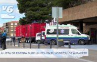 9.000 personas en la lista de espera para operarse en el Hospital de Albacete