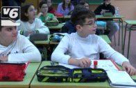 Alumnos de hasta 3º de primaria en el nuevo colegio de Imaginalia