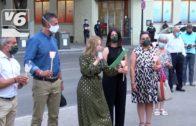 VOX rinde culto a los fallecidos durante en la pandemia en la Plaza del Altozano