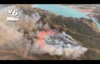 Declarados dos incendios en las localidades albaceteñas de Ayna y Férez