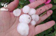 Una tormenta de lluvia y granizo se ceba con Molinicos