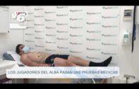 Los jugadores del Albacete Balompié pasan las pruebas médicas