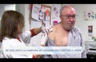 Se adelanta la campaña de vacunación contra la gripe
