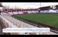 Suspendido el partido de pretemporada Albacete-Levante