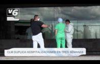 C-LM duplica hospitalizaciones en tres semanas
