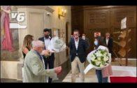 El Albacete Balompié asiste a su cita anual con la Virgen de los Llanos