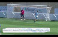 El Albacete primer equipo en abrir sus entrenamientos íntegros a la prensa