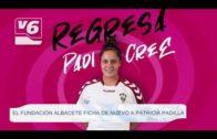 El Fundación Albacete ficha de nuevo a Patricia Padilla