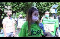 Los 'riders' de Uber Eats Albacete denuncian el recorte de sus ingresos