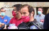 Manifestación por la defensa del sector aeroespacial en Castilla-La Mancha