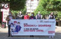 Albacete sale a la calle por la Jornada Mundial por el Trabajo Decente