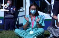 """Huelga de médicos hoy: """"de los aplausos a los derechos"""""""
