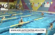 Los nadadores de La Roda superan el reto 80K para luchar contra la ELA