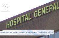 605 nuevos casos confirmados y descienden los hospitalizados