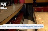 El Teatro Circo estará en reformas hasta el mes de abril