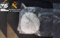 La Guardia Civil de Albacete pilla a dos personas con 100 gramos de cocaína