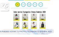Ya puedes votar tu proyecto favorito Sherpa 2020