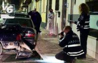 Aparatoso accidente: 9 vehículos dañados y 4 personas atendidas