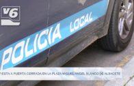 Fiesta a puerta cerrada en la Plaza Miguel Ángel Blanco de Albacete