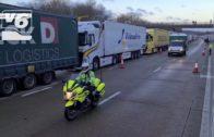 Joan Asensio, camionero de una empresa albaceteña, nos cuenta la situación vivida en Reino Unido