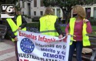 """Las interinas de las Escuelas Infantiles de Albacete: """"Nuestras plazas no se venden"""""""