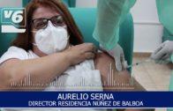 Núñez de Balboa, primera residencia de Albacete en vacunar contra la covid-19