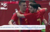 Raúl Gómez y Javier García 'Chino' convocados por la Selección Española de Fútbol Sala