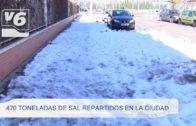 Increíble bajada del Mentiras (Yeste) bajo la nieve