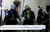 Incendio en la calle Jorge Juan de Albacete capital