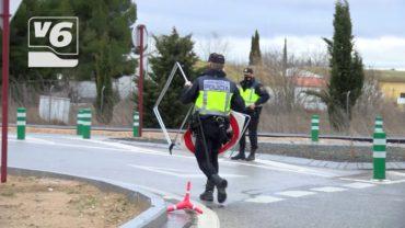 La Policía Nacional blinda los accesos a la capital