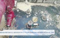 Nedgia retoma el servicio en La Felipa tras una incidencia con el gas