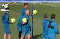 El Albacete Balompié se entrena con Ortuño pero sin Carlos Isaac