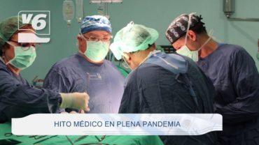 Hito médico en plena pandemia