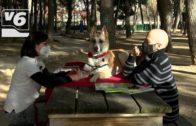 La historia de Arya, una perra que ayuda a leer a niños, se contará en un libro