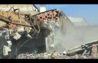 Las máquinas retoman la demolición del CAS para ampliar el Hospital de Albacete