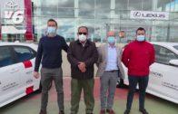 Toyota Autoalba entrega 8 vehículos híbridos eléctricos a El Conchel