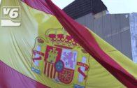 Unidas Podemos exhibe una bandera republicana en el Pleno de Albacete