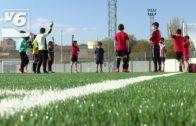 Las instalaciones del Belmonte estrenan nuevo pavimento