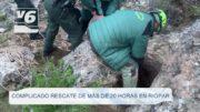 Complicado rescate de más de 20 horas en Riópar