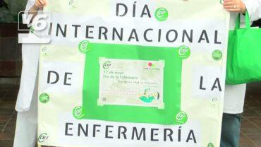 Homenaje a los profesionales de Enfermería en el Hospital General de Albacete