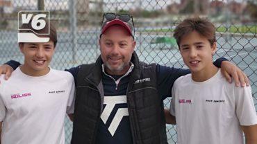 Soliss patrocina a los campeones de tenis de C-LM