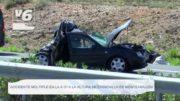 Accidente múltiple en la A-31 a la altura de Chinchilla de Montearagón