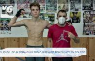 DEPORTES | El púgil de Alpera, Guillermo Guevara boxea hoy en Toledo